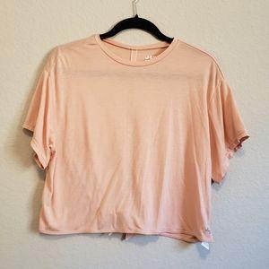 4/$25 Joy Lab Open Tie Back Cropped T Shirt